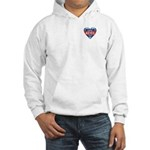 Vote Alan Keyes 2008 Political Hooded Sweatshirt