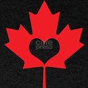 Canadians Have Heart Maple Leaf T-Shirt