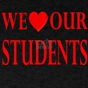 We Heart Students: T-Shirt