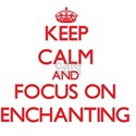 Keep Calm and focus on ENCHANTING T-Shirt