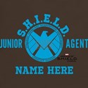 Blue Personalized Junior SHIELD Agent T-Shirt