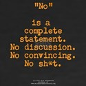 NO is complete 2S- Shirt