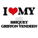 I love my Briquet Griffon Vendeen T-Shirt