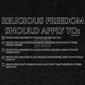 Religious Freedom T-Shirt
