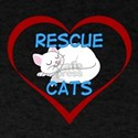 IHeart Rescue Cats T-Shirt