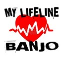My Lifeline Banjo White T-Shirt