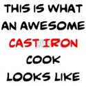 awesome cast iron cook Shirt