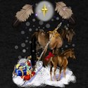 Christmas Mare and Colt T-Shirt