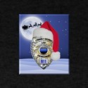 Law Enforcement Support Christmas T-Shirt