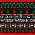 I Am Woodworker Christmas Ugly Sweater T-Shirt