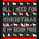 All I Need For Christmas Is My Bichon Fris T-Shirt