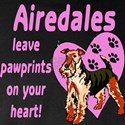 AIREDALES LEAVE PAWPRINTS ON YOUR HEART