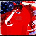 Patriotic Horse Apparel and Gifts T-Shirt