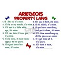 Ariegeois Property Laws 2 White T-Shirt