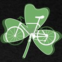 Shamrock White Bicycle T-Shirt