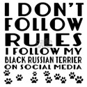 I Follow My Black Russian T Shirt
