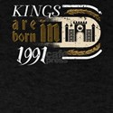 Gothic Birthday Kings Castle Born 1991 T-Shirt