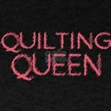 Quilting Queen Womans Mothers Mom Day T-Shirt