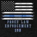 Thin Blue Line PROUD LAW ENFORCEMENT SON T-Shirt