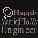 happily married to my engineer T-Shirt