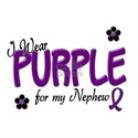 I Wear Purple For My Nephew 14