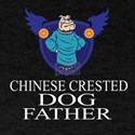 Chinese Crested Dog Father T-Shirt