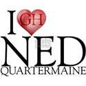 I Heart Ned Quartermaine Shirt