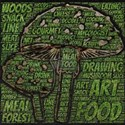 nature woods forest mushroom mycologist T-Shirt