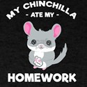 My Chinchilla ate my homework Back to Scho T-Shirt