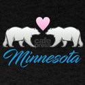 Minnesota Polar Bear Heart T-Shirt