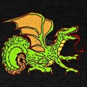 Green and Orange Dragon T-Shirt