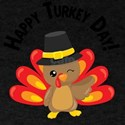 Happy Turkey Thanksgiving Pilgrim Fall Aut T-Shirt