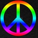 Peace Sign (Rainbow) T-Shirt
