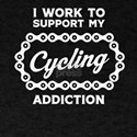 Support Cycling Addiction T-Shirt