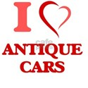 I Love Antique Cars T-Shirt