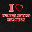 I Love Inline Speed Skating T-Shirt