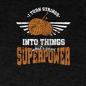 Crocheters Superpower Funny Crochet Gifts T-Shirt
