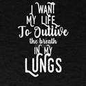 Asthma Care Breath In My Lungs Asthma Supp T-Shirt