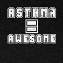 Kids Asthma Shirt Asthma = Awesome Anti As T-Shirt