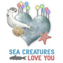 Sea Creatures Love You White T-Shirt