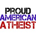 Proud American Athest White T-Shirt