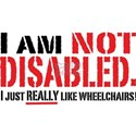 Not Disabled! Women's T-Shirt