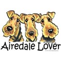Airedale Terrier Lover Women's T-Shirt