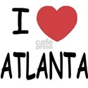 I heart Atlanta White T-Shirt