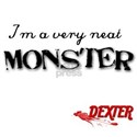 Dexter Neat Monster White T-Shirt
