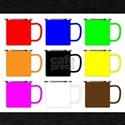 Various Coliured Enamel Mugs T-Shirt