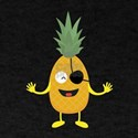 Pineapple Pirate with eye patch C9ozq T-Shirt