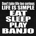 Eat Sleep And Banjo T-Shirt