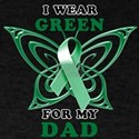 I Wear Green for my Dad T-Shirt