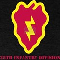 SSI - 25th Infantry Division with Text T-Shirt